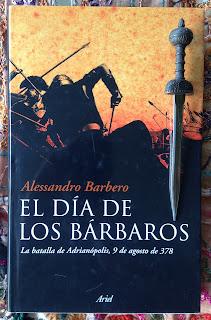 Portada del libro El día de los bárbaros, de Alessandro Barbero