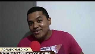 Secretario de Assistência Social de Cuitegi PB Adriano Galdino, comemorou em vídeo dia do idoso e parceria com o Governo do Estado.