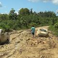 Jalan Daerah Long Hubung Rusak Parah, Dinas PUPR Janji Akan Segera Memperbaiki
