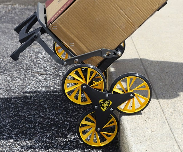 Stair Climbing Folding Cart Buy on Amazon