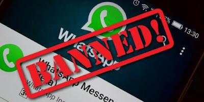 व्हाट्सएप चलाने वालों के लिए जरूरी सूचना, इन लोगों के व्हाट्सएप अकाउंट हो रहे हैं बैन