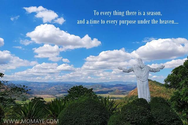 trust God, Monasterio de Tarlac, blue sky, Inspirational