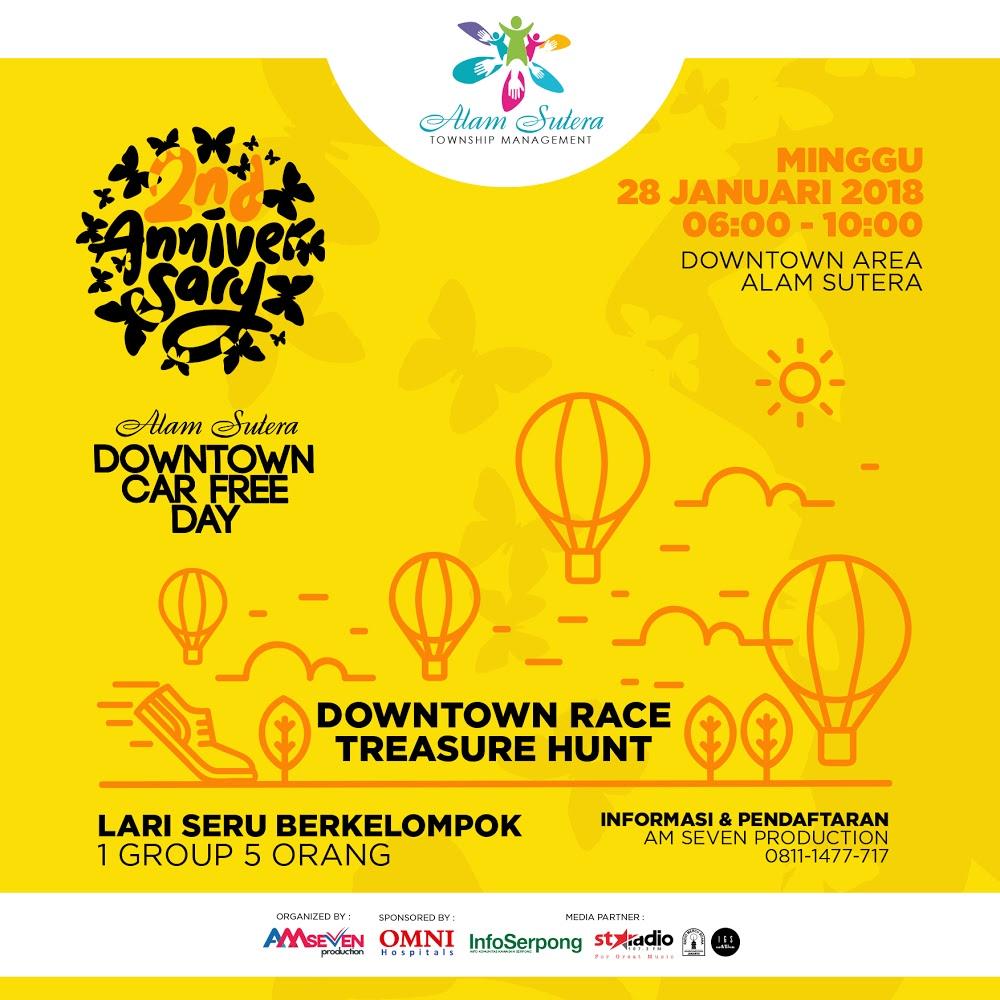 Downtown Race Treasure Hunt Alam Sutera • 2018