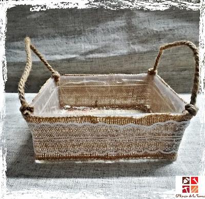 como hacer cestas