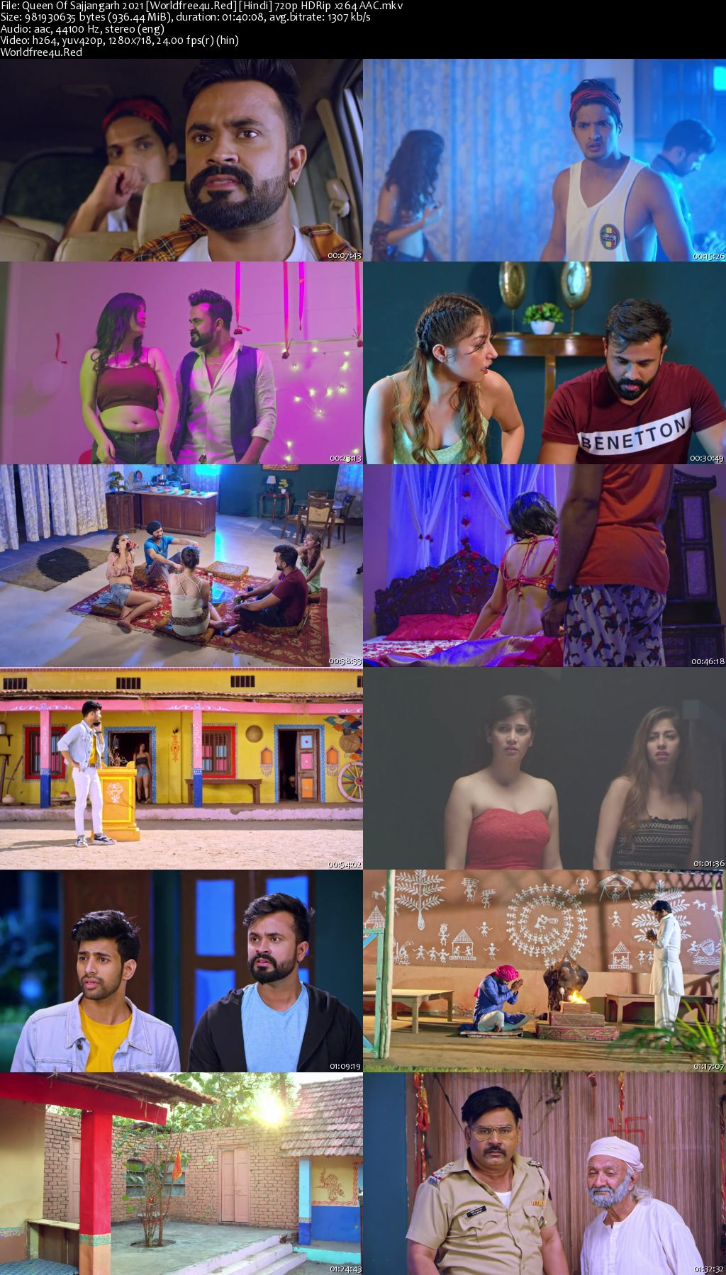 Queen Of Sajjangarh 2021 Hindi HDRip 720p