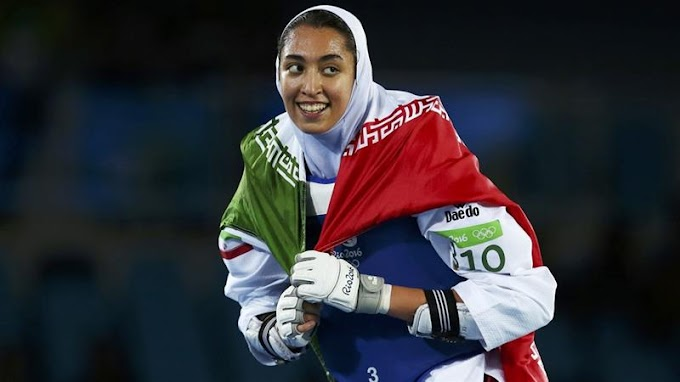 Iran's only female Olympic medalist says she has defected