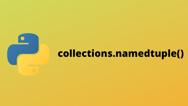 HackerRank Collections.namedtuple() solution in python