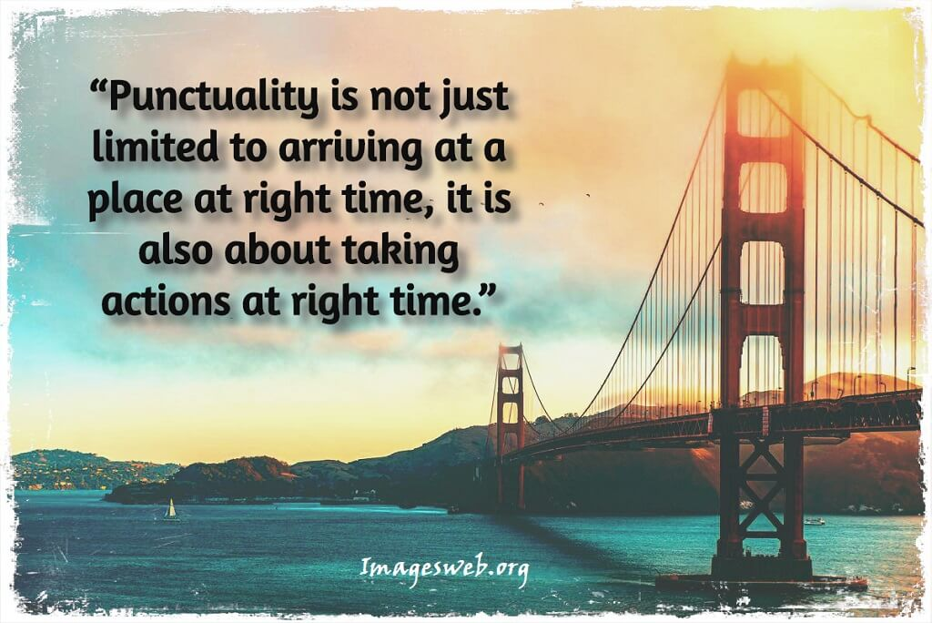 Punctuality Thoughts