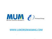 Lowongan Kerja Semarang Sales Representative di PT Mitra Utama Madani