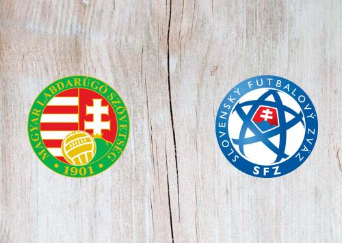 Hungary vs Slovakia - Highlights 9 September 2019