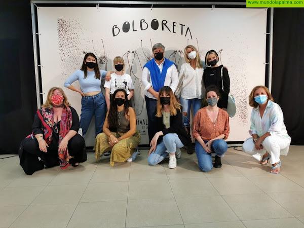 """Finaliza """"BOLBORETA"""", el primer Festival de Ilustración de Los Llanos de Aridane con la mirada puesta en una segunda edición"""