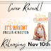Cover Reveal - SO WRONG IT'S WRIGHT by Amelia Kingston