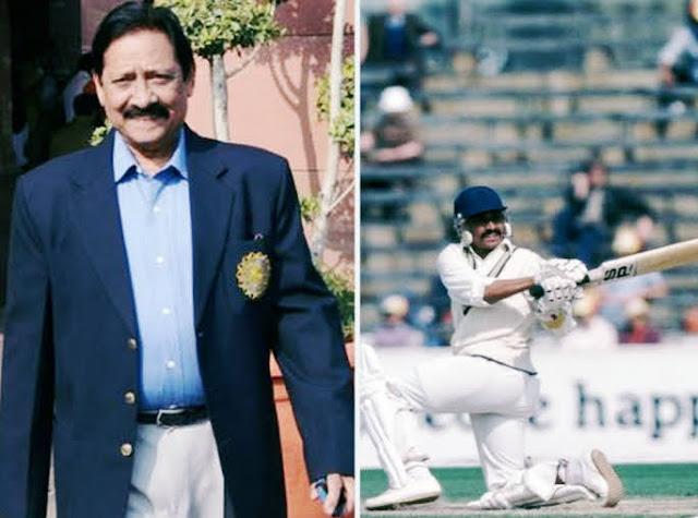 Cricketer Chetan chauhan