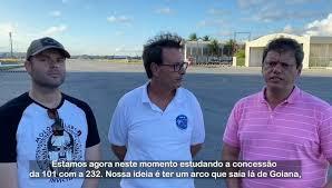 Tarcísio de Freitas estuda a concessão da BR-101 para que seja criado um Arco Metropolitano de Goiana