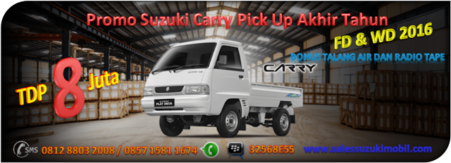 Promo Suzuki Carry Pick Up TDP Minim Akhir Tahun