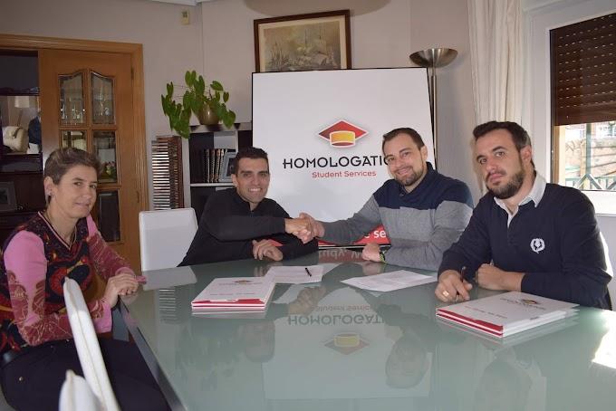HOMOLOGATION STUDENT SERVICES SE CONVIERTE EN PATROCINADOR DEL EQUIPO MADRILEÑO SALCHI BICICLETAS