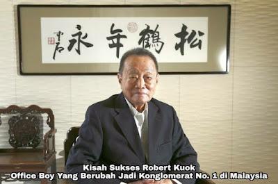 Kisah Sukses Robert Kuok, Office Boy Yang Mendadak Jadi Orang Terkaya di Malaysia
