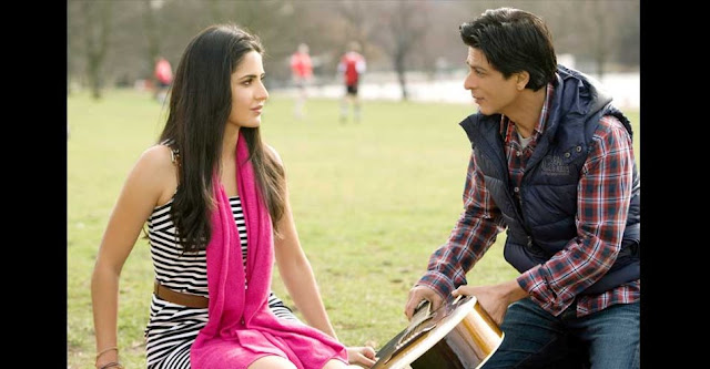 Shahrukh Khan and Katrina Kaif - First Look Of Yash Chopra's Next Movie