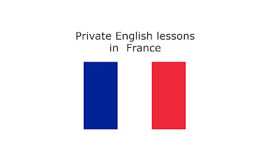 Private English lessons in  France