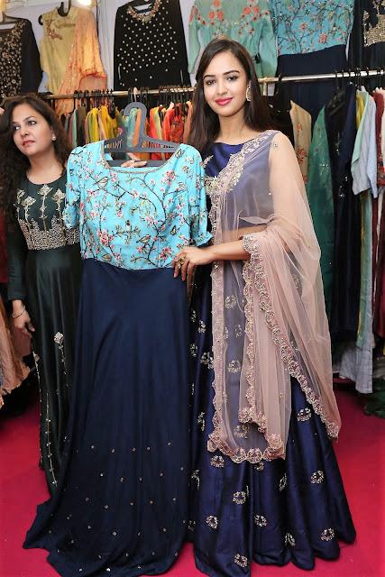 Actress Pujita Ponnada Inaugurates Trendz Expo at Taj Krishna