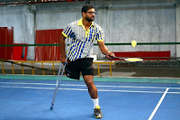 Neeraj George, also known as Neeraj George Baby, is an Indian mountaineer, and Para-Badminton athlete from Aluva, Kerala.
