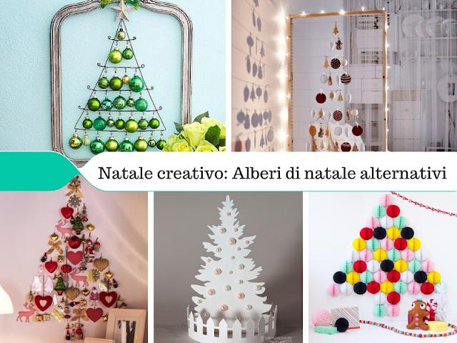 Natale creativo: Alberi di natale alternativi fai da te