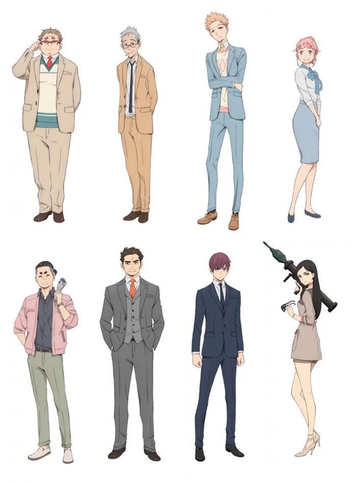 Fugou Keiji Balance: Unlimited anime - personajes