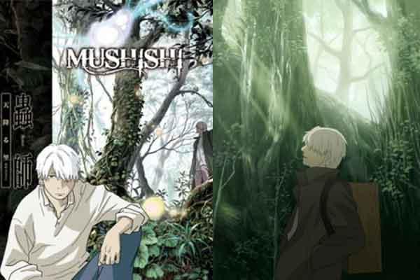 Mushishi - anime terbaik