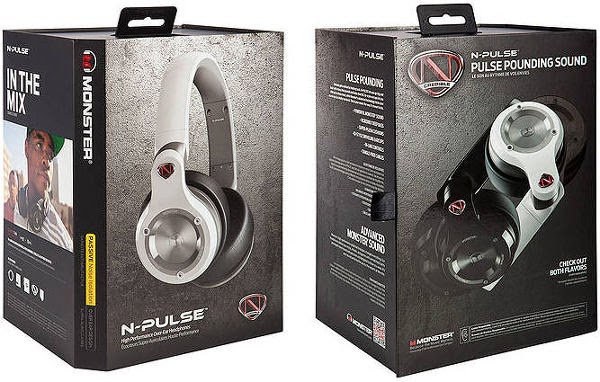 Monster N-Pulse Headphones Box