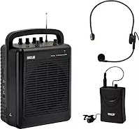 PA system with collar mic for teachers