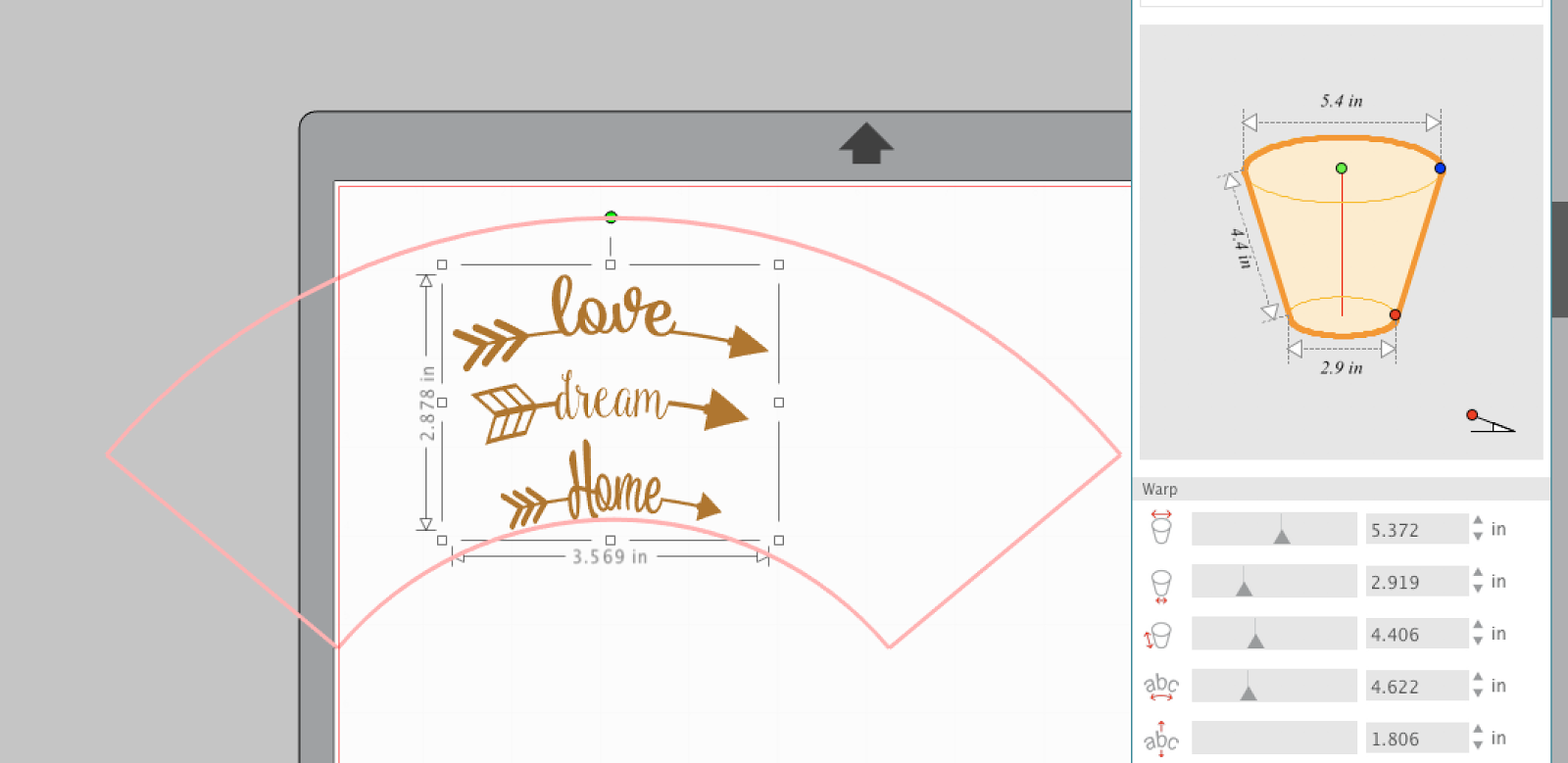 How to Make Designs Curve in Silhouette Studio: Meet the
