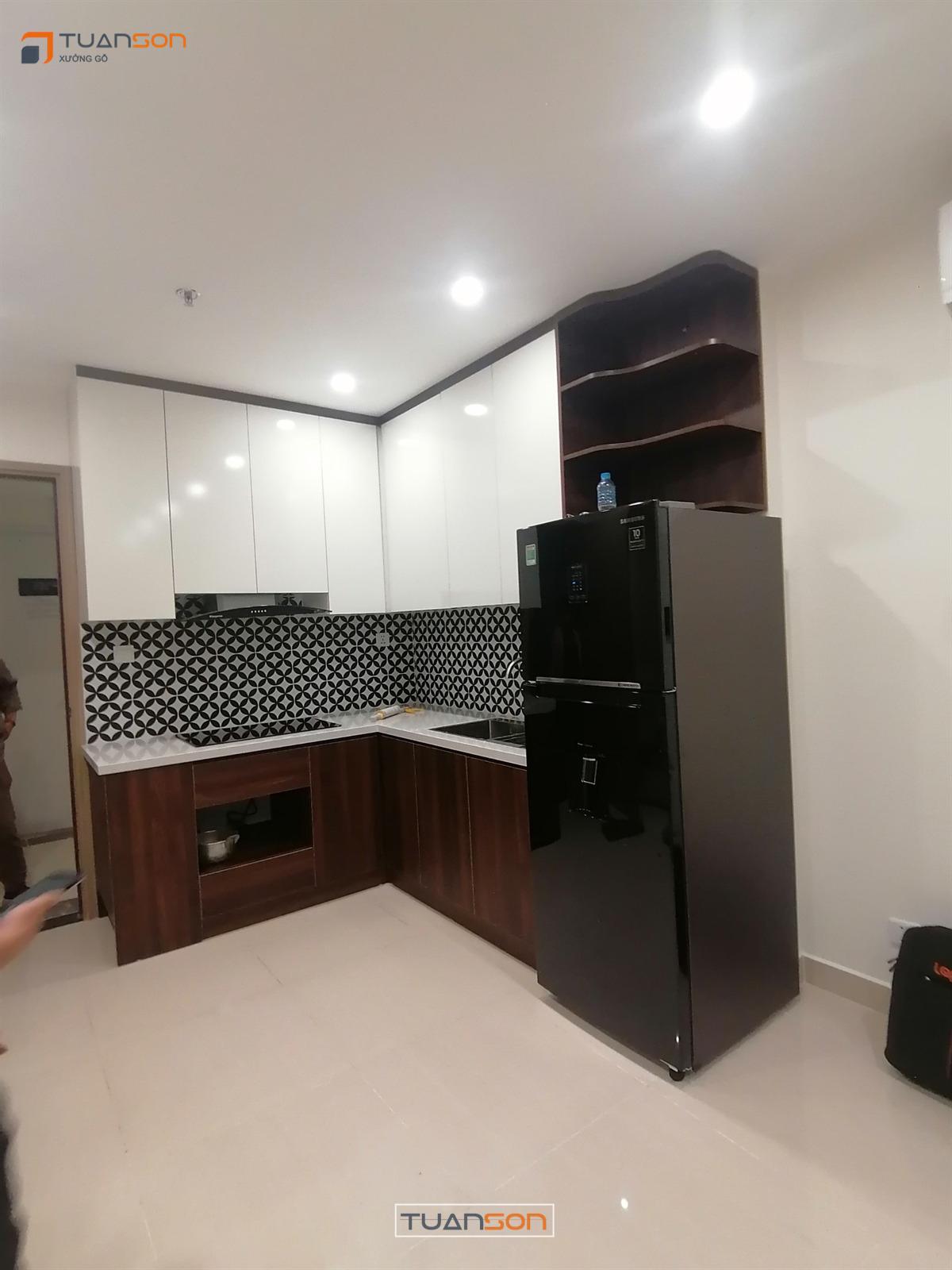 Hoàn thiện thi công nội thất căn 43m2 S1.06-09 Vinhomes Smart City