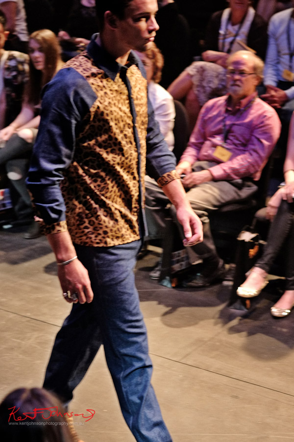 Kobe Kai - menswear, Raffles College 2012 Graduate Fashion Show Carriageworks, Everleigh Sydney