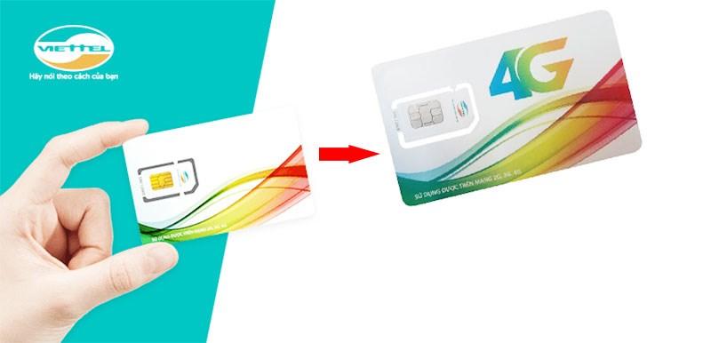 2 cách đổi sim 4G Viettel online miễn phí ngay tại nhà nhanh chóng
