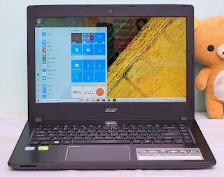 Laptop Gaming Acer E5-475 Core i5 7200U Nvidia 940MX