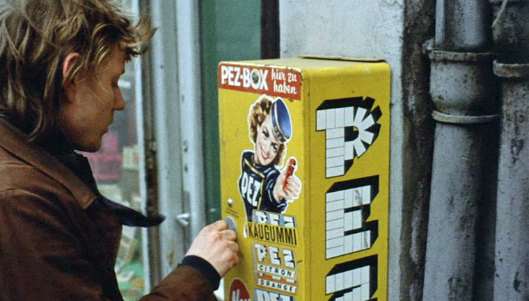 Charly Wierzejewski als Willi in SUPERMARKT (1974) von Roland Klick. Quelle: Filmgalerie 451 DVD Screenshot