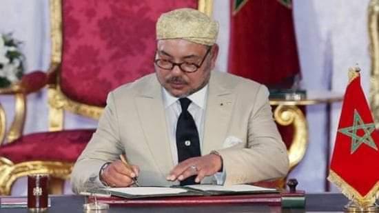 جلالة الملك محمد السادس نصره الله يعزي عائلة الشناوي