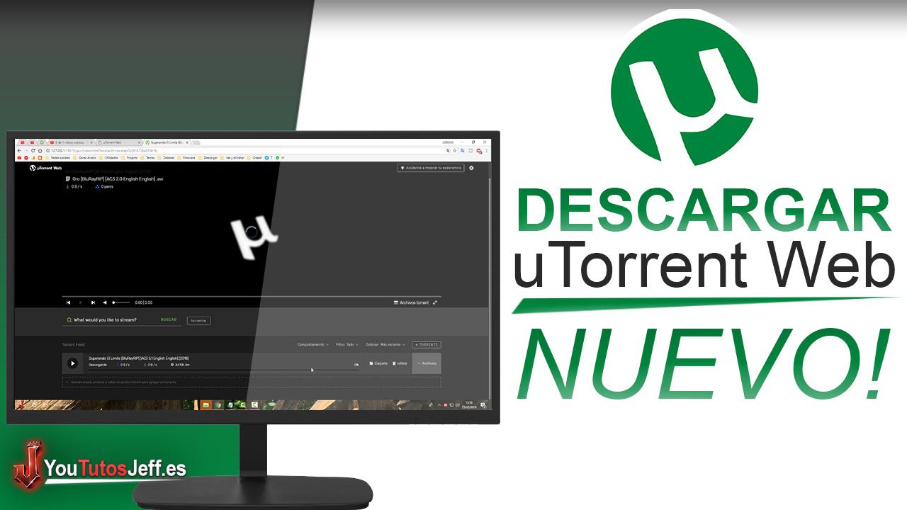 Como Descargar uTorrent Web Gratis - Lo nuevo de uTorrent