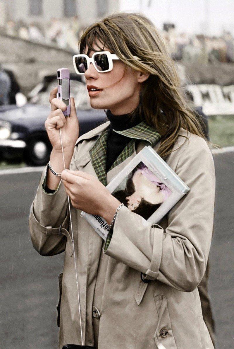 Françoise Hardy ícone fashion