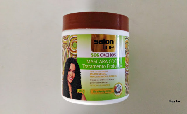 máscara coco Salon Line