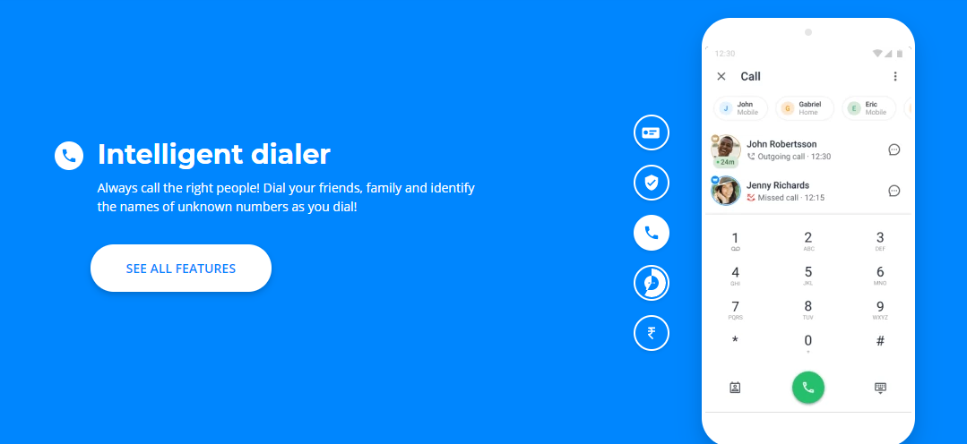 How to change the name in Truecaller