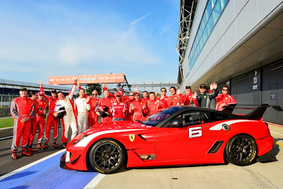 Ferrari Guinness World Record at Silverstone by Charles Davis Photos