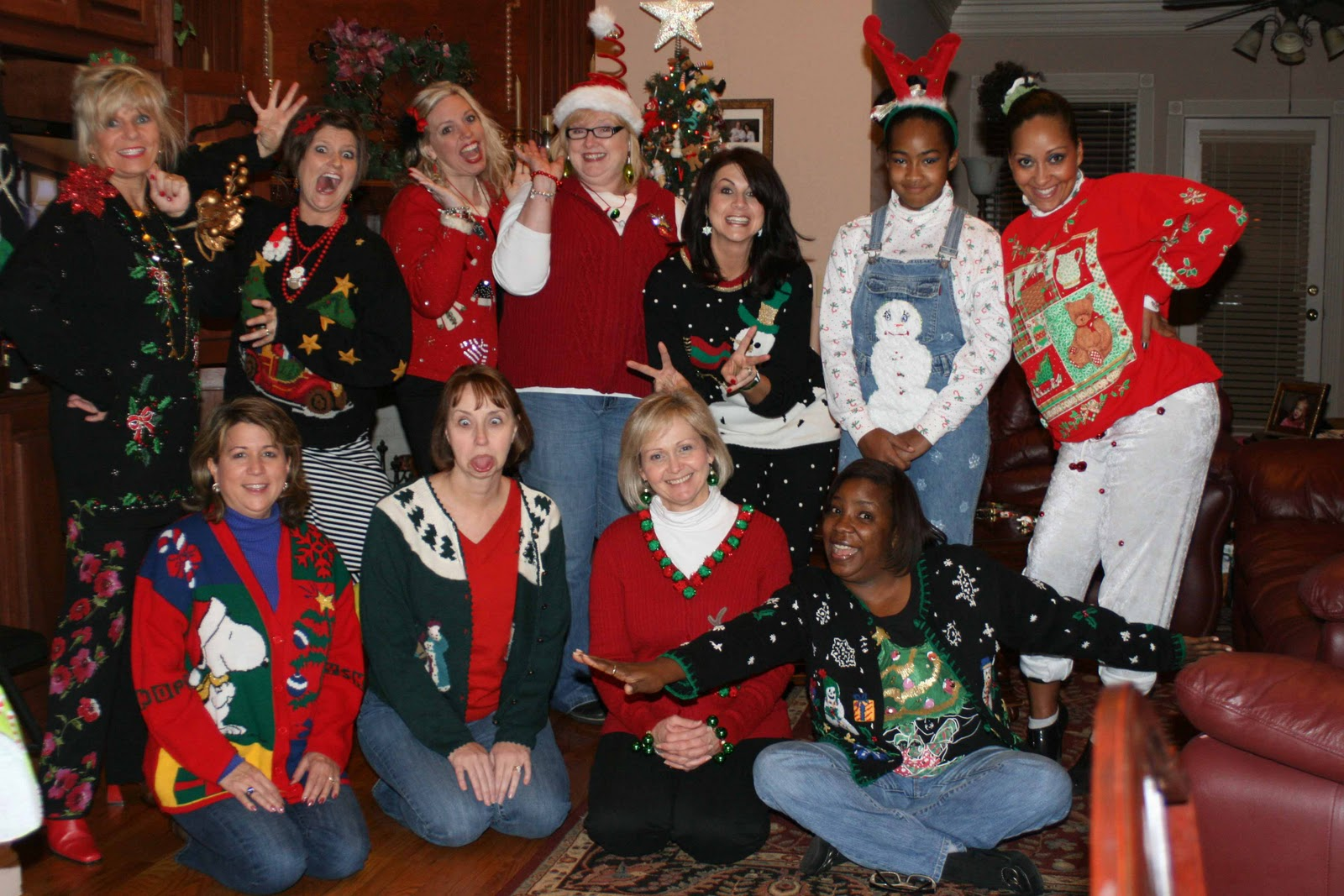 Ugly sweaters for christmas party