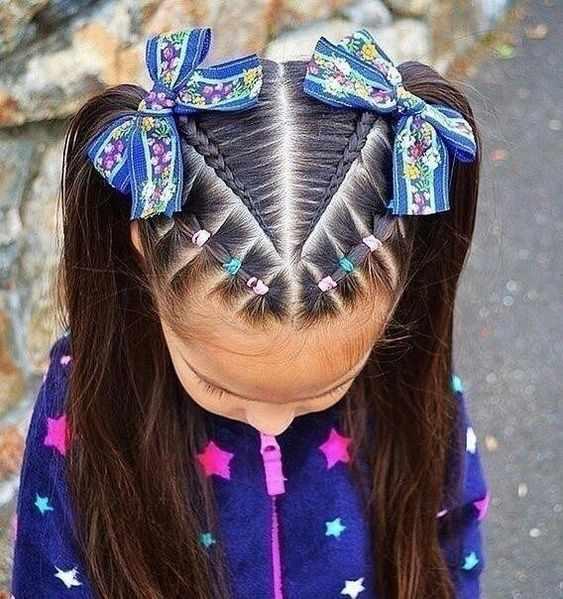 اجمل تسريحات شعر بنات صغار 2021 للعيد وجميع المناسبات