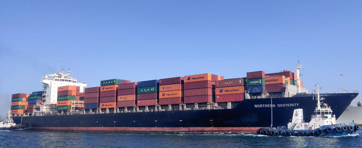 سفن الحاويات، m/v northern dexterity
