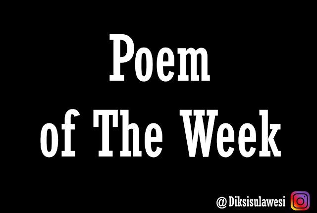 Poem of The Week #9: Tenggelamkan Diriku II