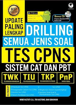 Ebook Drilling Semua Jenis Soal Tes CPNS Sistem CAT dan PBT