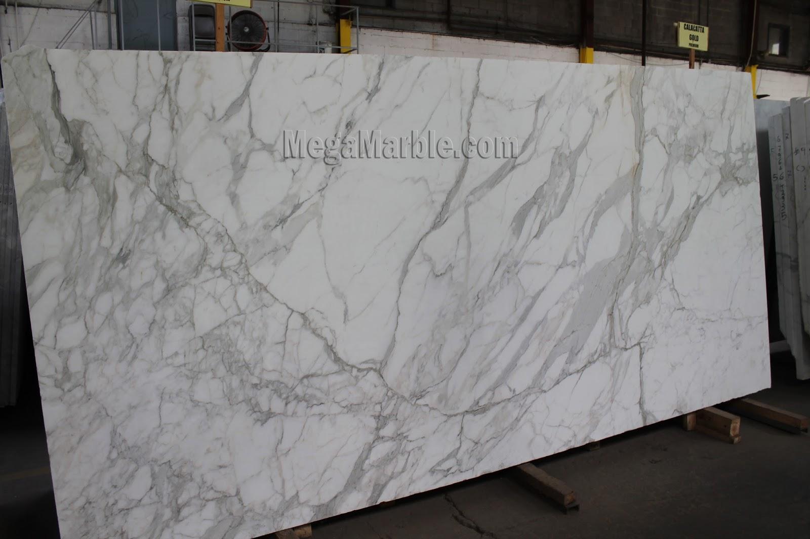 white marble calacatta gold slabs