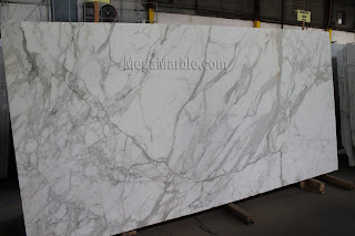 White Marble - Calacatta gold premium 2 inches in New York