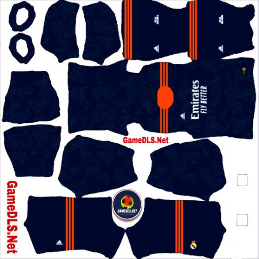 Kit Real Madrid 2022 Dream League Soccer